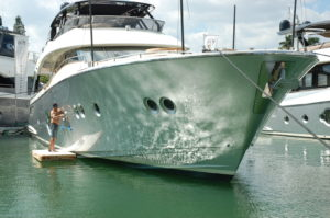 Government officers clarify policies for yachts in U.S. waters