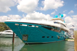 YMB17: Yachts shine at two locations during Yachts Miami Beach