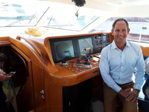 YMB17: Helping out has changed S/Y Vivid captain