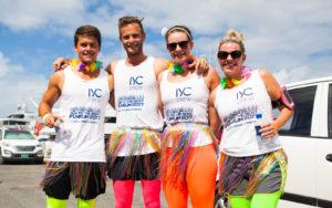 Yacht crew run, raise money in Sint Maarten