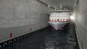 Norway to build ship tunnel