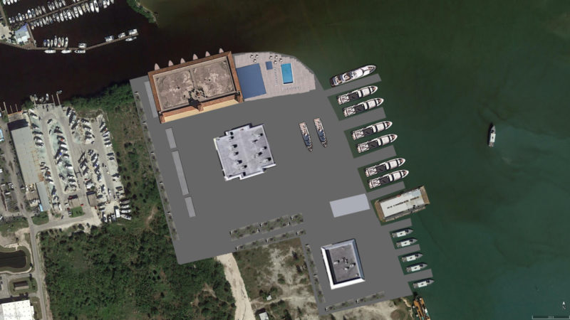Derecktor, Haack bid for Fort Pierce yacht facility