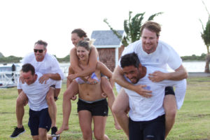 Crew learn, compete, relax during Acrew Sint Maarten
