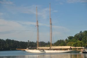 Latest news in the charter fleet: Boadicea with Fraser; Germania Nova with Hill Robinson