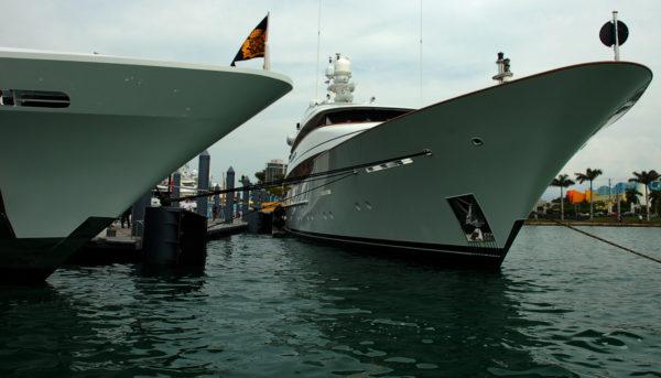 Ibiza marina has megayacht berths