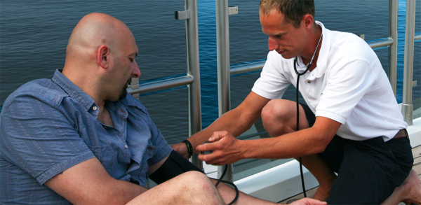 Sea Sick: IVs best left to medical pros