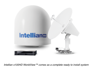 Intellian launches 1m TV antenna