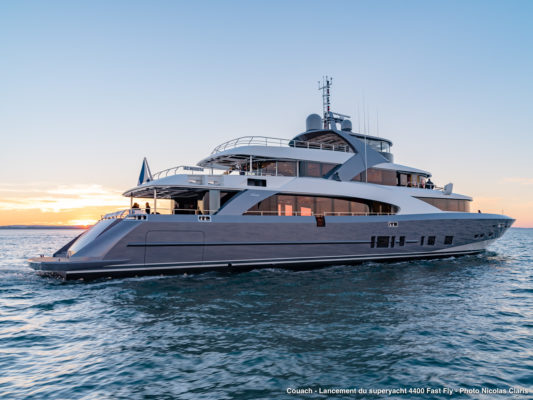 Two projects usher in 120th year for French yacht builder