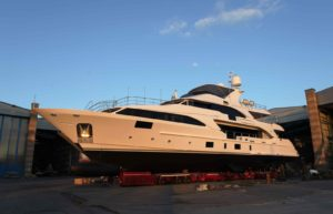 Benetti launches M/Y Lady Lillian