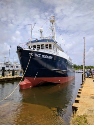 FIO research vessel launched