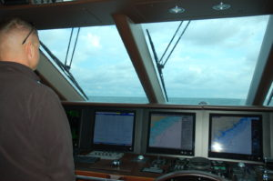 On Course: Captain and crew responsible for recording sea time