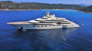 M/Y Dilbar named yacht of the year