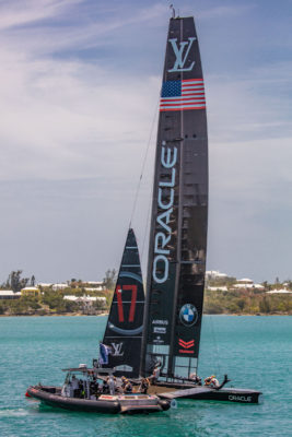 NYYC, Hutchinson returning to America's Cup