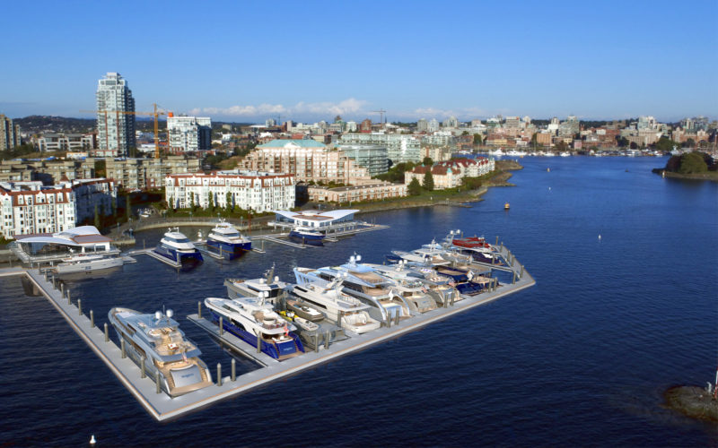 Victoria International Marina opens for yachts this summer