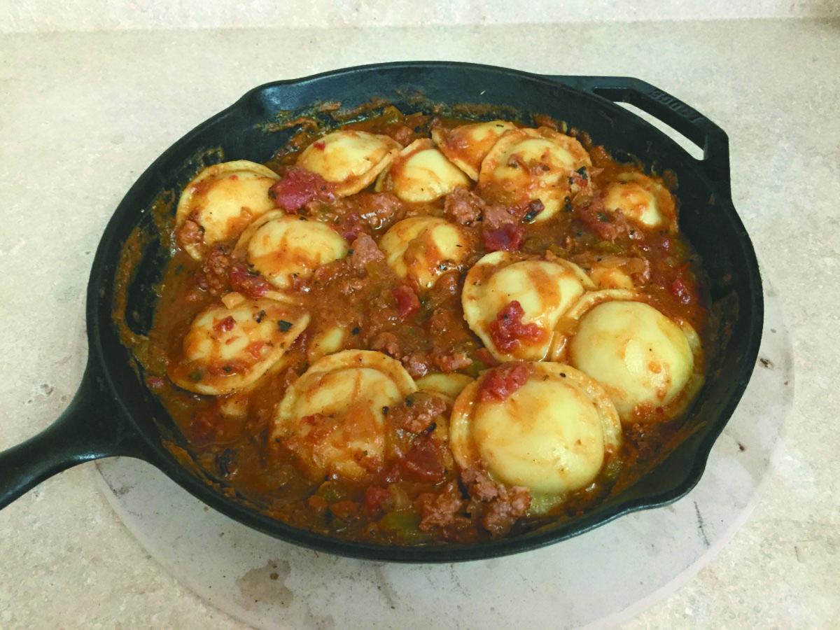 Homemade Sausage Ragu