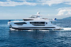 Hull 2 of Horizon FD85 ready for debut