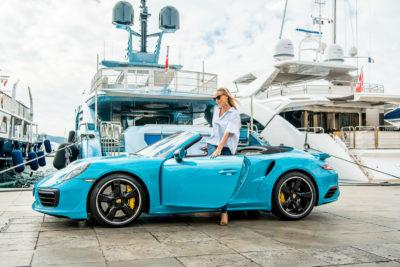 Fraser, Porsche offer luxury cars at boat show