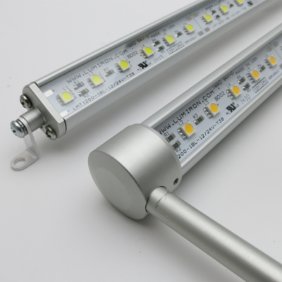 LED lighting series has built-in dimmer switch
