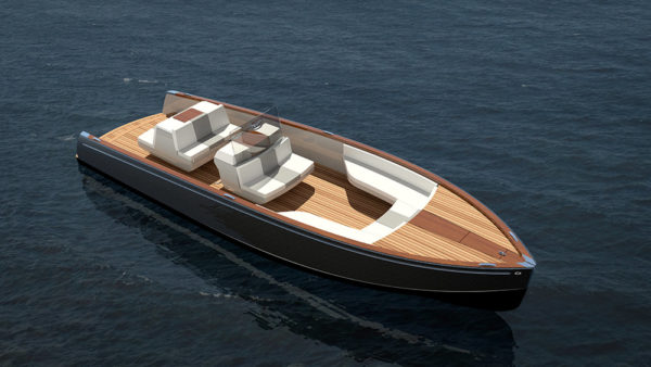 Hinckley unveils fully electric yacht