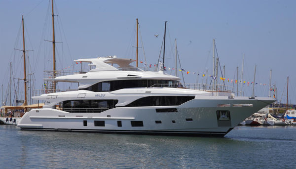 Benetti's 2nd Mediterraneo nears delivery
