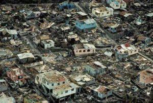 Hurricane Maria impacts Caribbean as a major storm