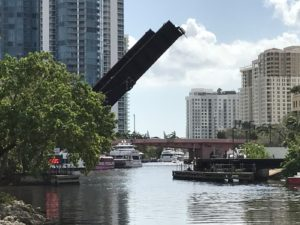 App to track train over New River in Fort Lauderdale