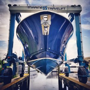 Marina Mile Yachting Center installs new lift