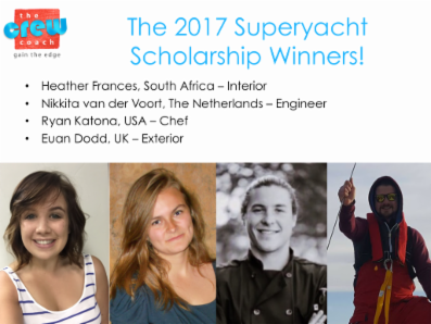 Scholarship winners land jobs