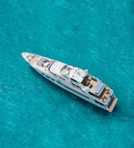 Latest news in the charter fleet: Mizu, Lady Joy in Bahamas this winter