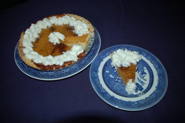 Crew's Mess: Pumpkin-Grits Pie