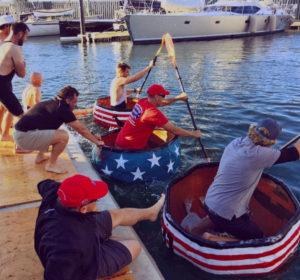 Pumpkin Regatta aids veterans, hurricane relief efforts