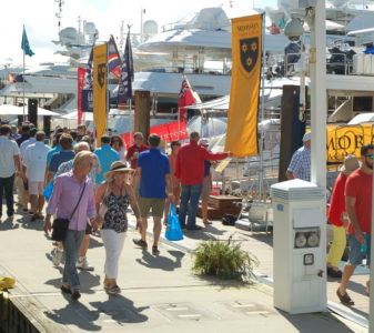 FLIBS reports more people, more boats
