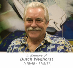 Furuno manager Butch Weghorst has died