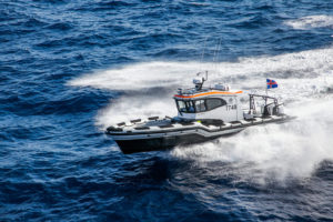 Tender offers smooth ride in rough seas