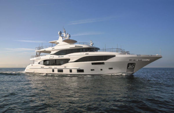 Benetti's 2nd Mediterraneo 116 delivered