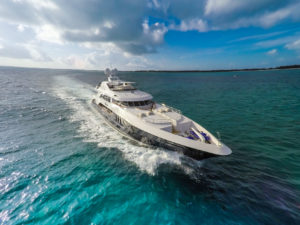 Latest news in the charter fleet: Icon in the Med, Rebel in the Bahamas