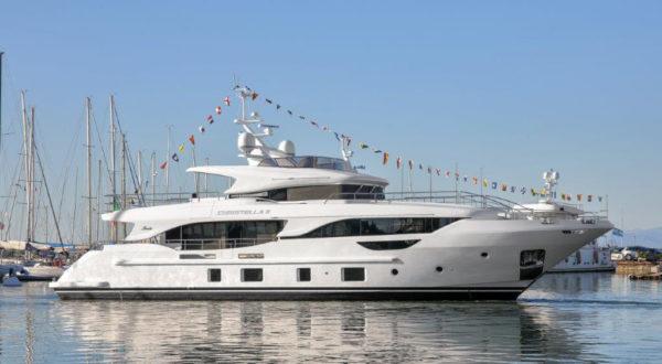 Benetti launches first Delfino 95