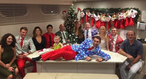 Christmas greetings from M/Y Chasseur