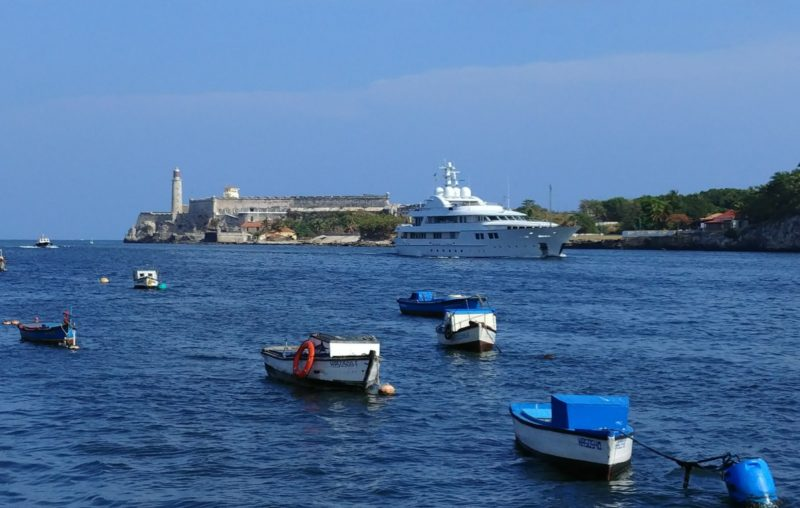 Yachts face new block for travel to Cuba