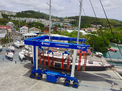 Business brisk at Caribbean shipyard