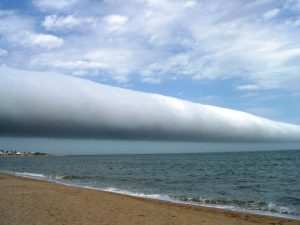 Sea Science: Roll clouds can be 600 miles long