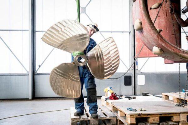 Dutch shipyard unveils classed, 3D-printed propeller
