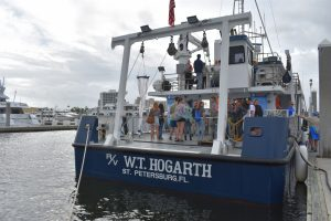 Research vessel available for students, scientists