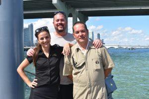 Miami18: Saturday at the Miami Yacht Show at Island Gardens