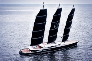 Oceanco delivers 350-foot sailing yacht
