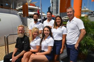 PBIBS18: Crew and yachts shine on opening day