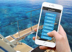 New app operates gangway via phone
