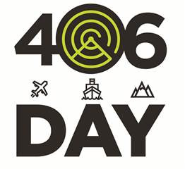 Industry recognizes safety beacons on 406Day