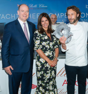 Chef Albuerne wins Monaco chef competition