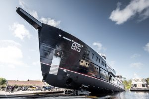 Feadship launches 243-foot Sherpa